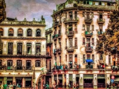 Cuban Apartments Jigsaw Puzzle