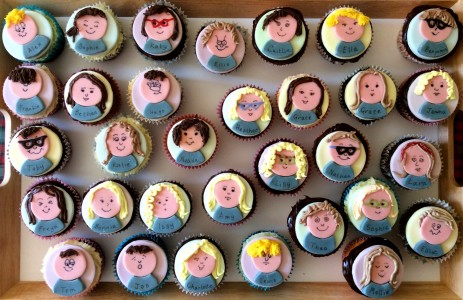 Cupcake Faces Jigsaw Puzzle