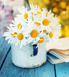 Cupful of Daisies Jigsaw Puzzle