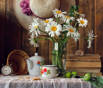 Daisies Still Life Jigsaw Puzzle