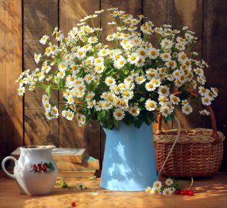 Daisy Bouquet Jigsaw Puzzle