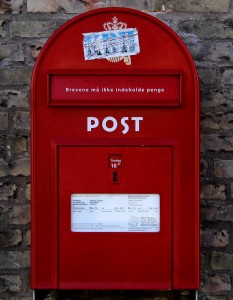 Danish Post Box Jigsaw Puzzle