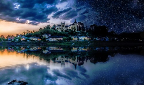 Day and Night Jigsaw Puzzle