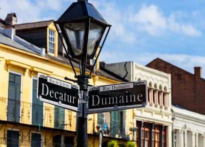 Decatur and Dumaine Jigsaw Puzzle