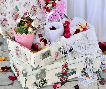 Decorated Suitcases Jigsaw Puzzle
