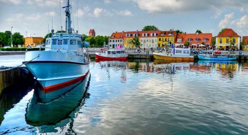 Denmark Harbor Jigsaw Puzzle