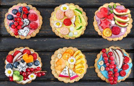 Dessert Tarts Jigsaw Puzzle