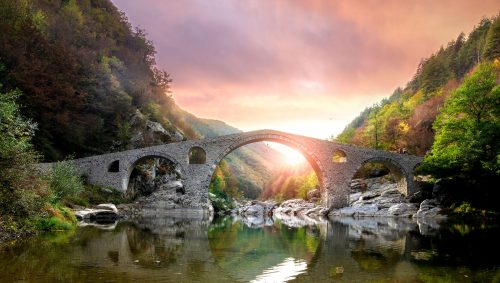 Devil's Bridge Jigsaw Puzzle