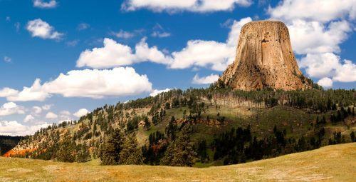 Devils Tower Jigsaw Puzzle