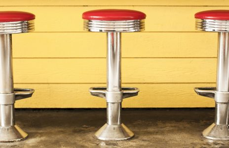 Diner Stools Jigsaw Puzzle