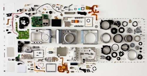 Disassembled Camera Jigsaw Puzzle
