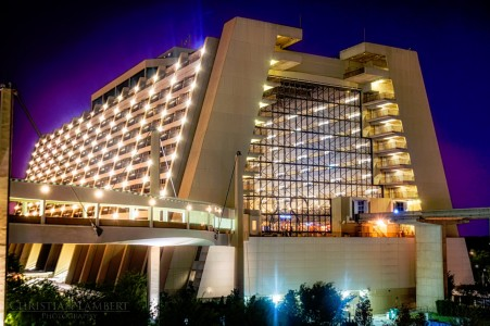 Disney Contemporary Resort Jigsaw Puzzle