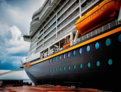 Disney Cruise Ship Jigsaw Puzzle