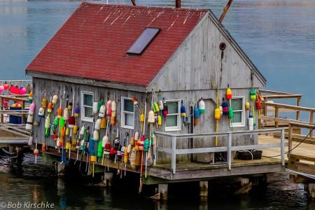 Dock House Jigsaw Puzzle