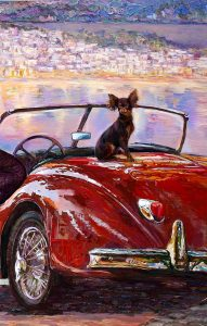 Dog with a View Jigsaw Puzzle