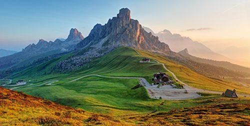 Dolomites Landscape Jigsaw Puzzle