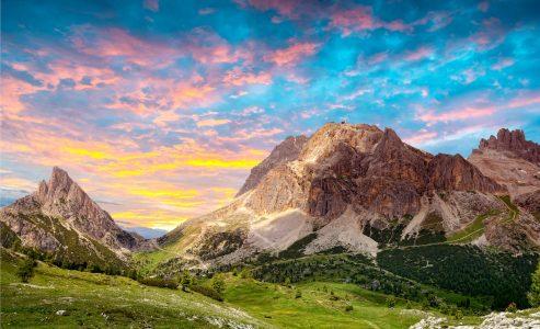Dolomites Peaks Jigsaw Puzzle
