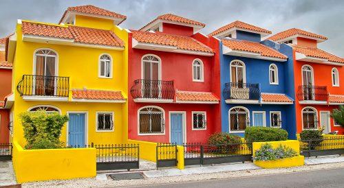 Dominican Villas Jigsaw Puzzle