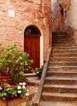 Door and Steps