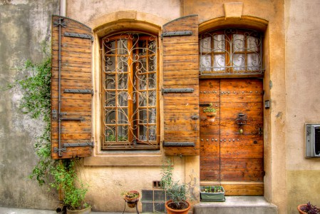 Door and Window Jigsaw Puzzle
