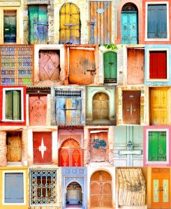 Door Collage Jigsaw Puzzle