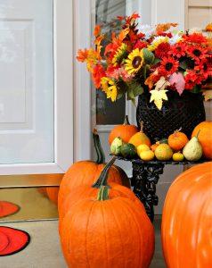 Doorstep Pumpkins Jigsaw Puzzle