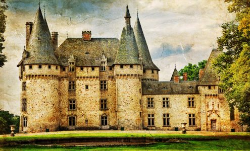 Dordogne Castle Jigsaw Puzzle