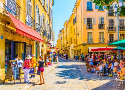 Downtown Aix-en-Provence Jigsaw Puzzle