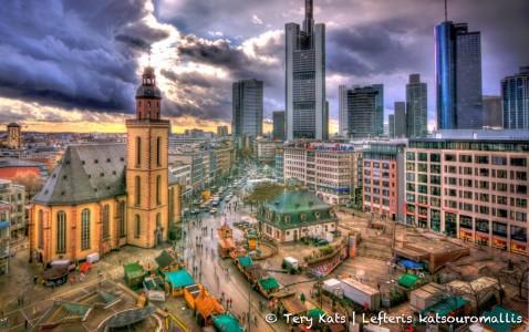 Downtown Frankfurt Jigsaw Puzzle