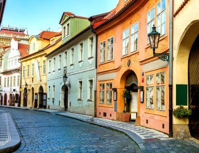 Downtown Prague Jigsaw Puzzle