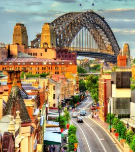 Downtown Sydney Jigsaw Puzzle