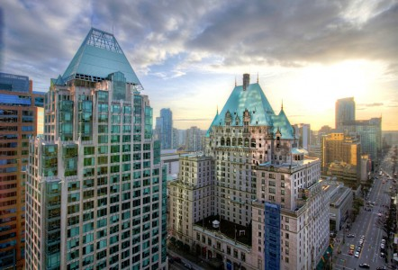 Downtown Vancouver Jigsaw Puzzle