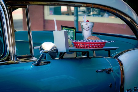 Drive-In Dining Jigsaw Puzzle