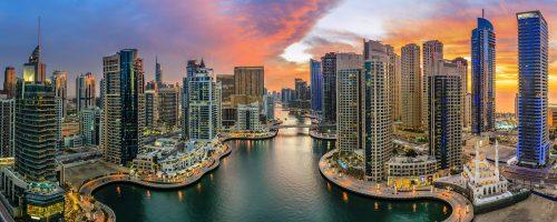 Dubai Skyline Jigsaw Puzzle