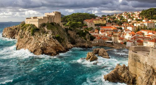 Dubrovnik Shore Jigsaw Puzzle