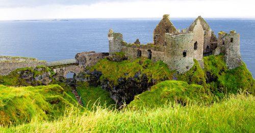 Dunluce Castle Ruins Jigsaw Puzzle