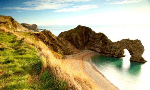 Durdle Door Overlook Jigsaw Puzzle