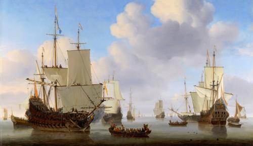 Dutch Men-of-War Jigsaw Puzzle
