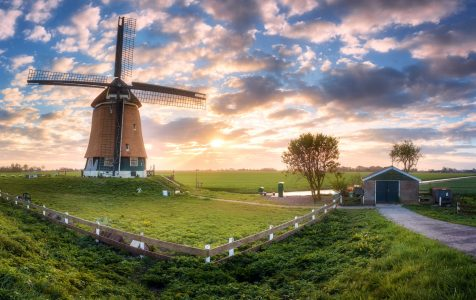 Dutch Windmill Jigsaw Puzzle