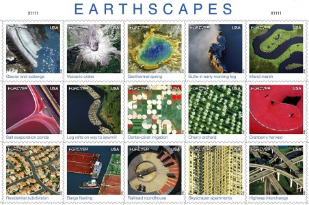 Earthscape Stamps Jigsaw Puzzle