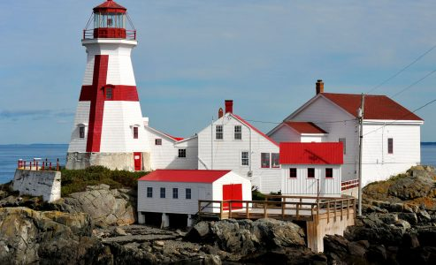 East Quoddy Lighthouse Jigsaw Puzzle