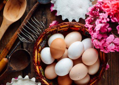 Egg Basket Jigsaw Puzzle