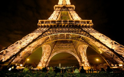 Eiffel Tower Base Jigsaw Puzzle