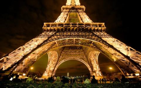 Eiffel Tower Base Jigsaw Puzzle