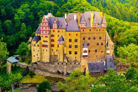 Eltz Castle & Forest Jigsaw Puzzle