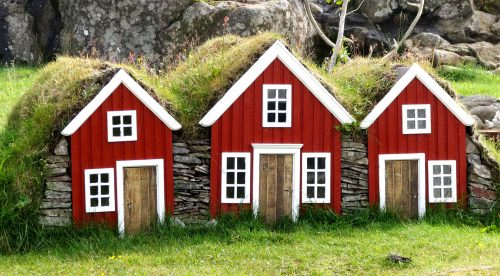 Elves Houses Jigsaw Puzzle