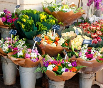 England Flower Market Jigsaw Puzzle