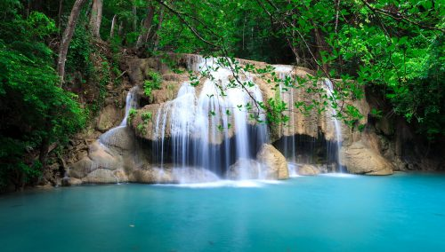 erawan waterfall jigsaw puzzle