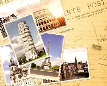 European Travel Jigsaw Puzzle
