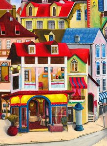 European Village Jigsaw Puzzle